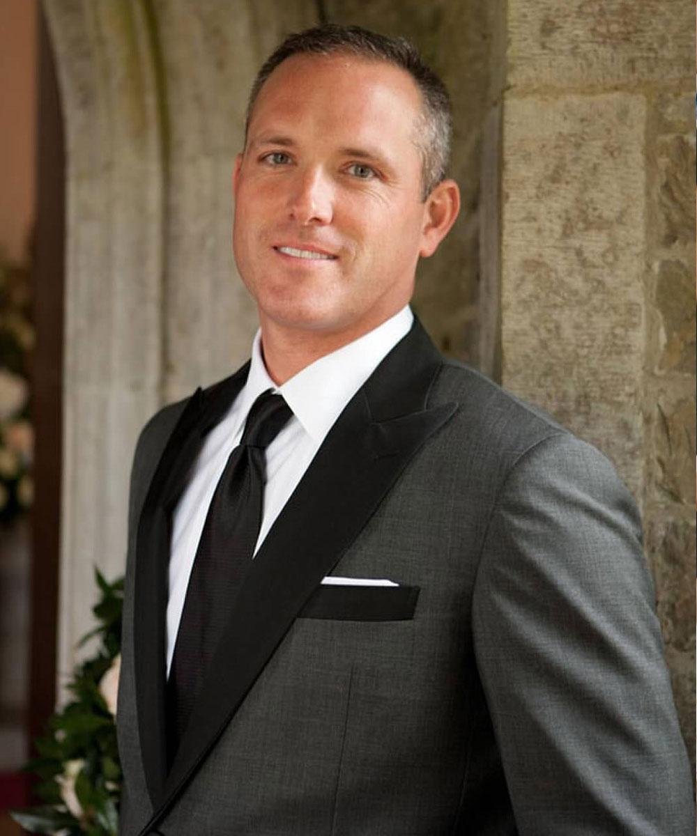 Suit Fabric: Charcoal sharkskin tuxedo with black grosgrain lapel ... Tuxedo Shirt